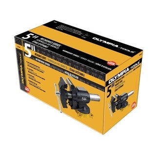 Olympia Tools 38-644 5 in. Open End Multi-Purpose Vise