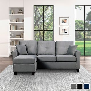 Link to Sorrel Reversible Sofa Chaise Similar Items in Living Room Furniture
