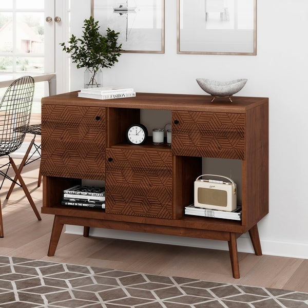 Living Skog TV Stand Media Console Mid-century Beige. Opens flyout.