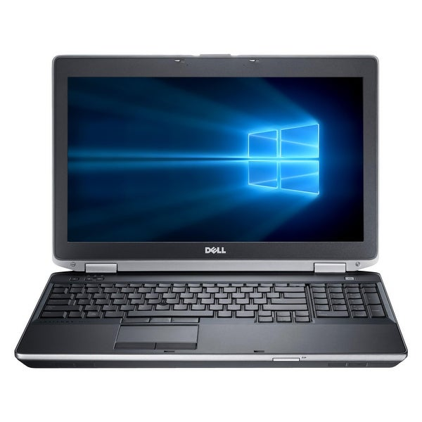 "Refurbished Laptop Dell Latitude E6530 15.6"" Intel Core i5-3320M 2.6GHz 4GB DDR3 1TB Windows 10 Pro 1 Year Warranty - Black"