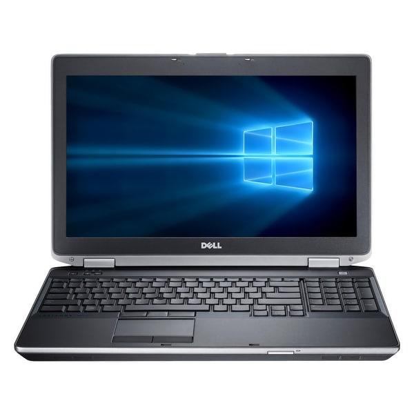 "Refurbished Laptop Dell Latitude E6530 15.6"" Intel Core i7-3520M 2.9GHz 8GB DDR3 1TB Windows 10 Pro 1 Year Warranty - Black"