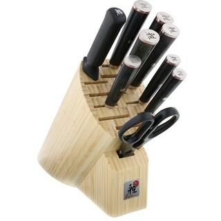 Miyabi Kaizen 10-pc Knife Block Set - Black/Stainless Steel