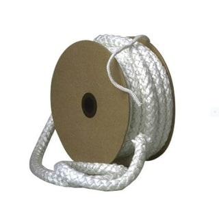 """Imperial GA0171 Replacement Gasket Rope, 1/2"""" x 100' , White"""