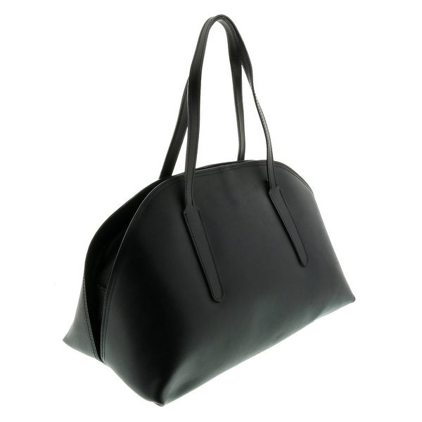 HS2034 NR ARES Black Leather Satchel/Shoulder Bag - 14.5-10-8