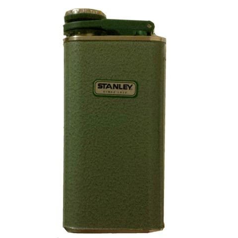 Stanley 10-00837-045 Classic Stainless Steel Flask, 8 Oz.