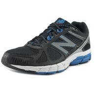 New Balance M670 Men  Round Toe Synthetic Black Tennis Shoe