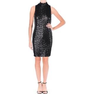 Kensie Womens Clubwear Dress Sequined Sleeveless