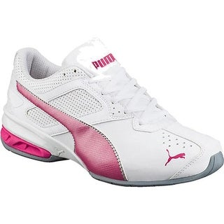 PUMA Women's Tazon 6 PUMA White/Fuchsia Purple/PUMA Silver
