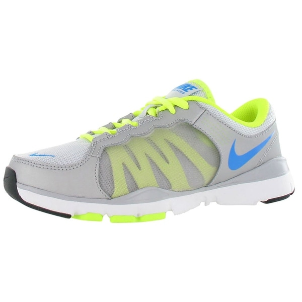 Nike Flex Trainer 2 Womens Shoes Gray/neon/blue