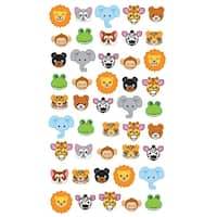 Sticko Stickers-Zoo Faces