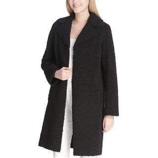 Link to Calvin Klein Womens Faux Shearling Coat, black, Medium Similar Items in Women's Outerwear
