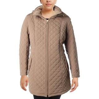 Gallery Womens Plus Anorak Jacket Winter Quilted - 1x