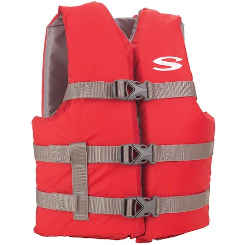 Stearns classic youth life jacket red 50-90 lbs 3000004472