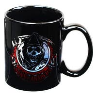 Sons of Anarchy SAMCRO Grim Reaper Logo 16oz Coffee Mug - Multi