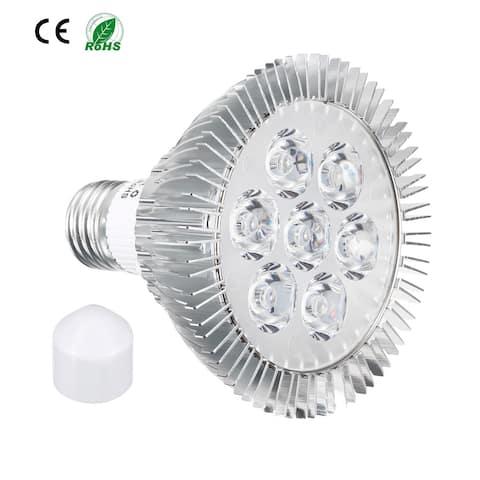 LED Grow Light Bulb 7W E27 5 Red + 2 Blue LEDs AC 85-265V for Indoor Plants