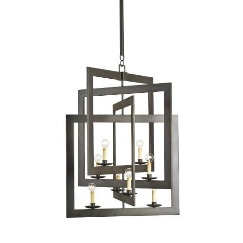 Currey and Company 9927 Middleton 8 Light Single Tier Chandelier