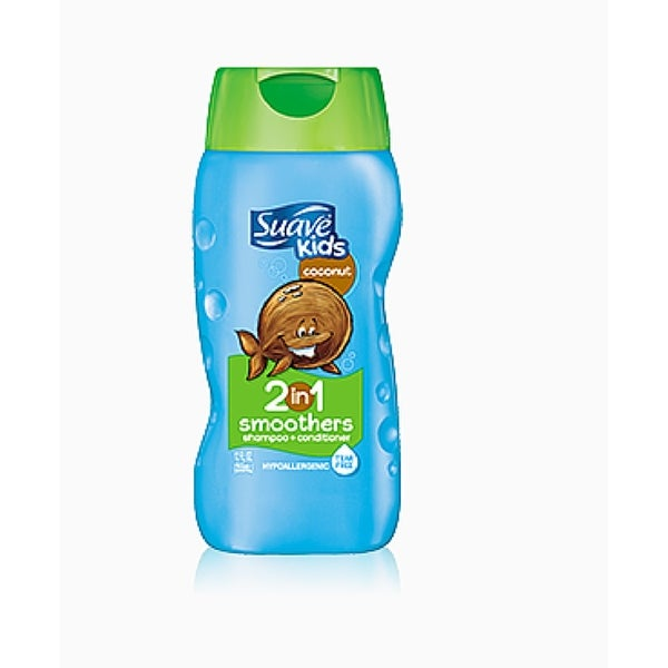 Suave Kids 2-in-1 Shampoo Smoothers, Cowabunga Coconut 12 oz