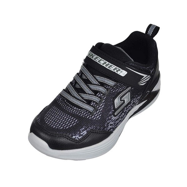 a651a057a2dcf Shop Skechers Boys' Light-Up Sneakers - Black/Silver, 11 Toddler - Free  Shipping Today - Overstock - 27122685