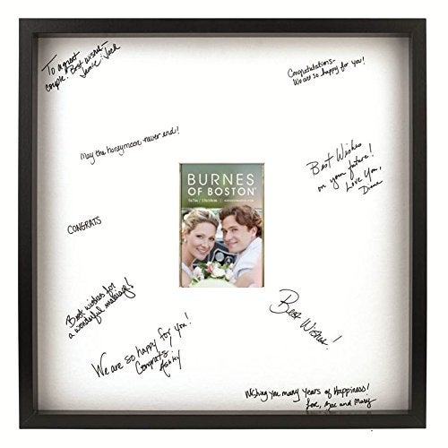 Shop Burnes Of Boston Black Frame With A Signature Mat 20 Inch By