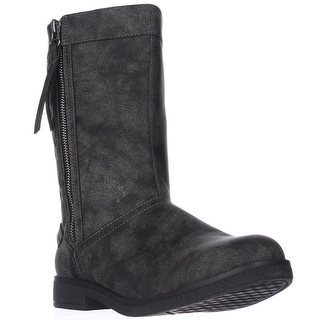 Rocket Dog Tipton Quilted Mid-Calf Boots - Black