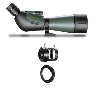 Hawke Optics 20-60x85 Endurance ED Spotting Scope & Camera Mount Set