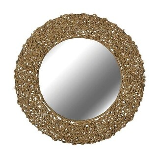 Kenroy 60203 Seagrass Wall Mirror - Natural Seagrass