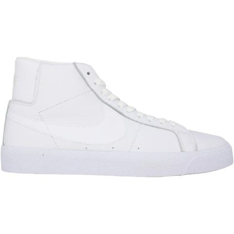 Nike SB Zoom Blazer Mid White/White-White 864349-105 Men's