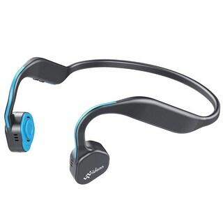 Vidonn F1 Blue Wireless Open Ear Bone Conduction Headphones