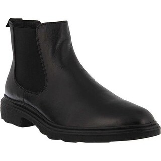 Spring Step Men's Jeremy Chelsea Boot Black Leather
