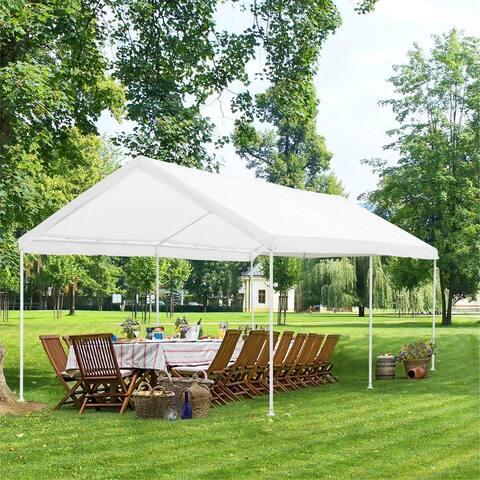 Ainfox 10x20ft Outdoor Canopy Tent for Party, Wedding, Outdoor Activities Carport