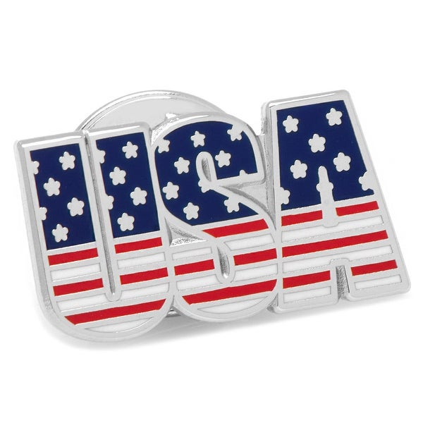 USA Stars and Stripes Lapel Pin