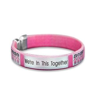 T Cancer Awareness Pink Ribbon