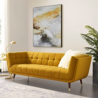 Link to Art-leon Modern Tufted Fabric Soft Sofa with Wood Legs Similar Items in Sofas & Couches