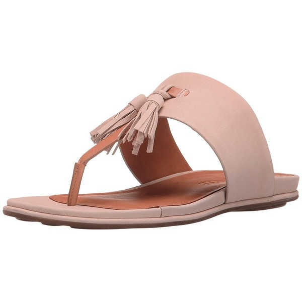 Gentle Souls Womens Ottie Open Toe Casual Slide Sandals, Blush, Size 10.0