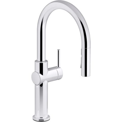 Kohler K-22972 Crue 1.5 GPM Single Hole Pull Down Kitchen Faucet