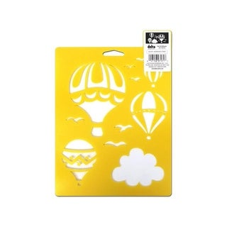 Delta Stencil Mania 7x10 Hot Air Balloons