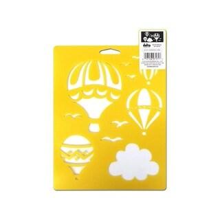 Delta Stencil Mania 7x10 Hot Air Balloons