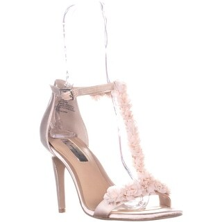 I35 Rosiee2 T Strap Sandals, Beige - 8 us