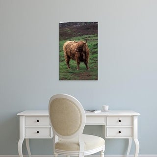 Easy Art Prints Gavriel Jecan's 'Scottish Highland Cattle' Premium Canvas Art