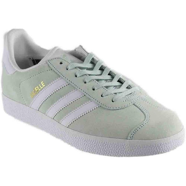 b19dcef3d80 Shop adidas Gazelle in Ice Mint White by - Free Shipping On Orders ...