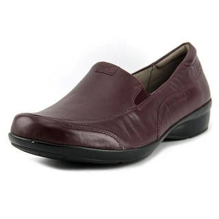 Naturalizer Channing Round Toe Leather Loafer