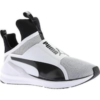 PUMA Women's Fierce Cross Training Shoe PUMA White/PUMA Black