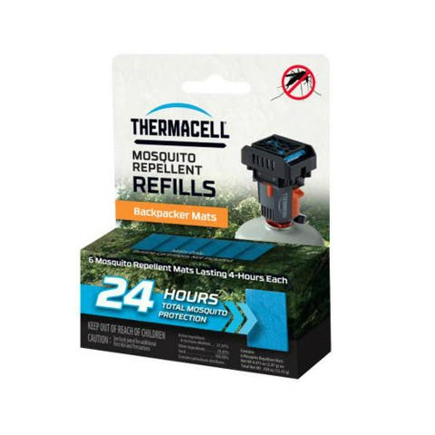 Thermacell M24 Backpacker Mosquito Repeller Refill Mat w/ 6 Repellent Mats
