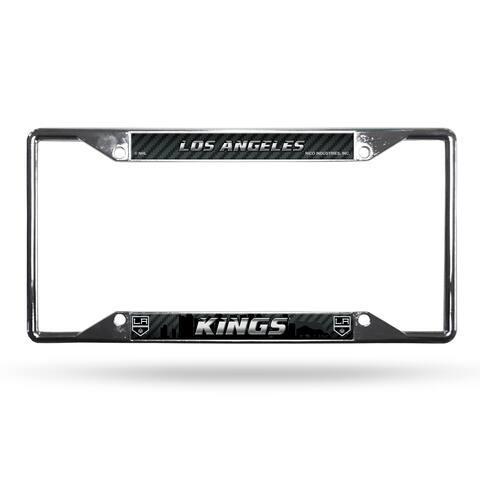 Los Angeles Kings License Plate Frame Chrome EZ View
