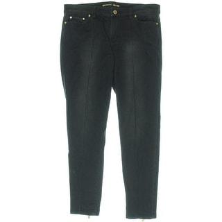 MICHAEL Michael Kors Womens Zip Ankle Stretch Skinny Jeans