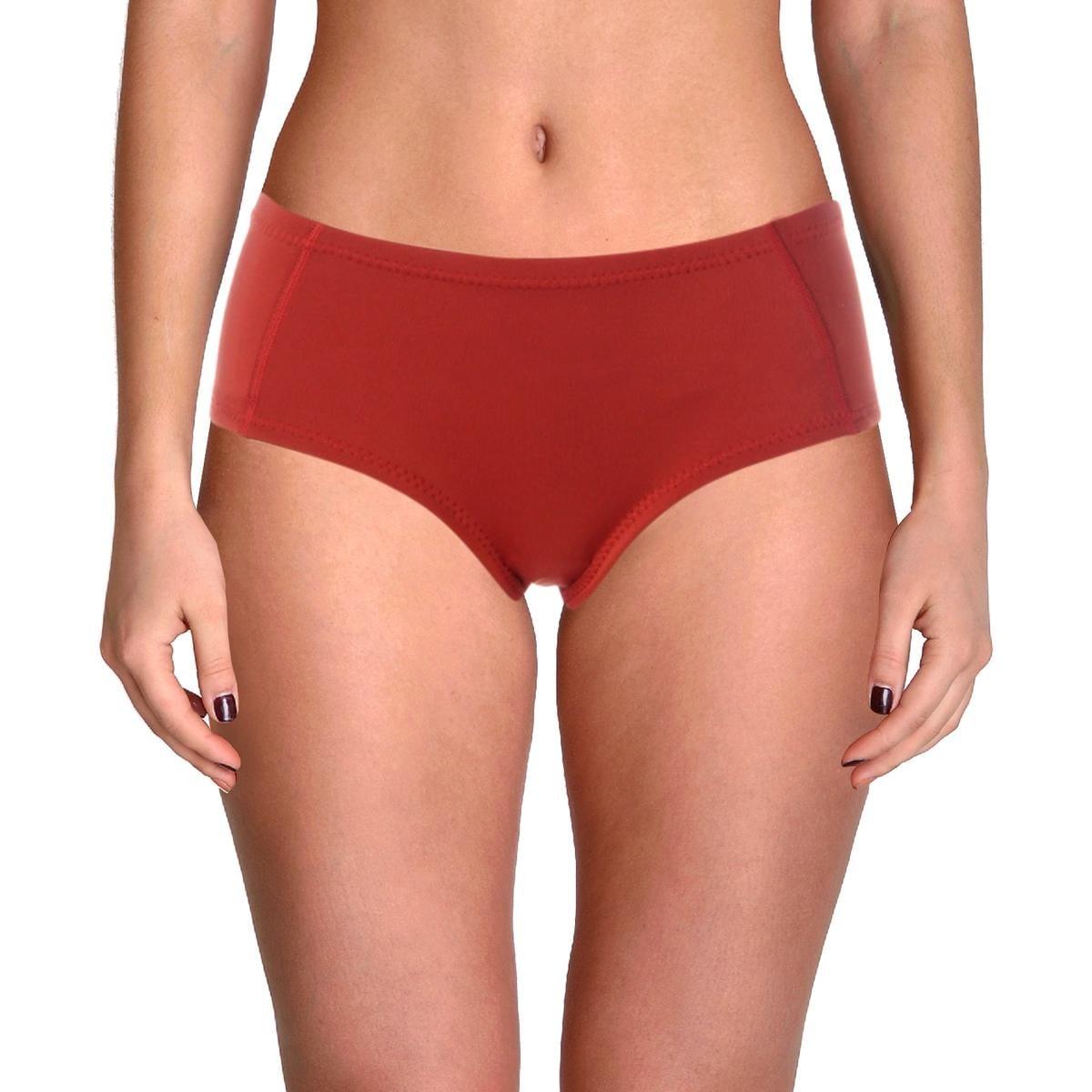 Cynthia Rowley Womens Bailey Scuba Bikini Swim Top Separates