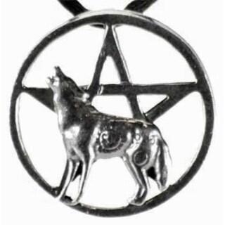 Howling Wolf Pentagram