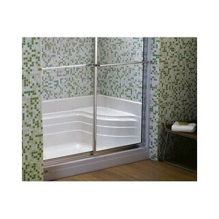 "Jacuzzi N658 60"" x 32"" Bonaire Single Threshold Shower Base with Right Hand Drain"