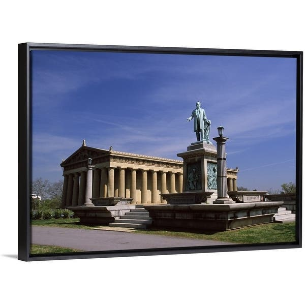 Shop Black Friday Deals On Statue In Front Of An Art Museum The Parthenon Centennial Park Nashville Davidson County Tennessee Multi Overstock 25497680