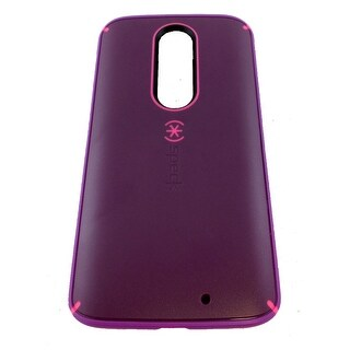 Speck MightyShell Case for Motorola Droid Turbo 2 - Shocking Pink (Purple/Pink/R